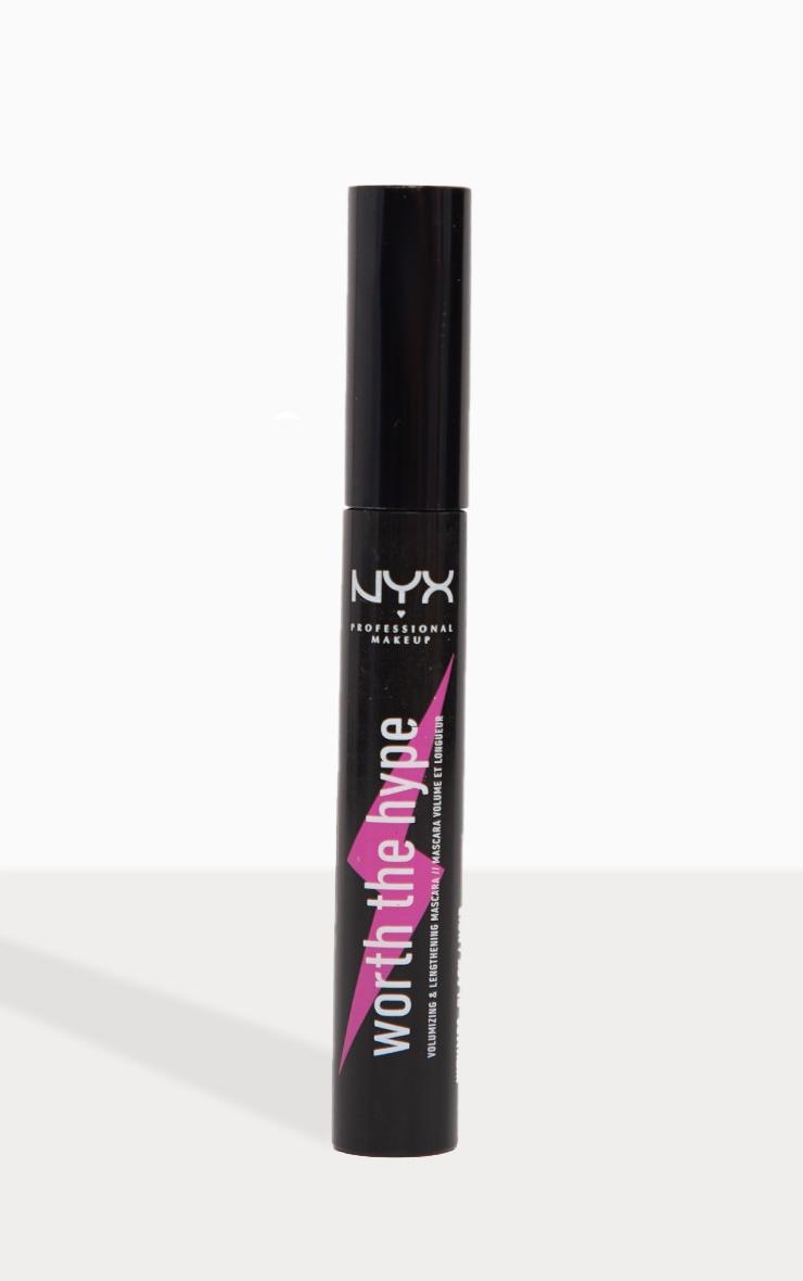 NYX PMU Worth the Hype Black Volumizing & Lengthening Mascara 2