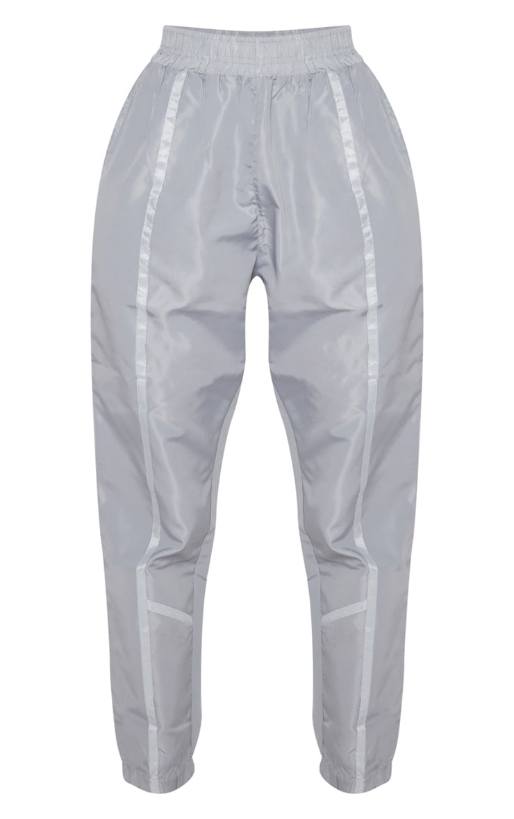 Grey Contrast Binding Shell Jogger 3