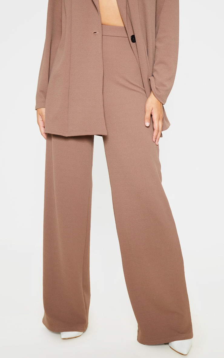 Camel Wide Leg Pants 2