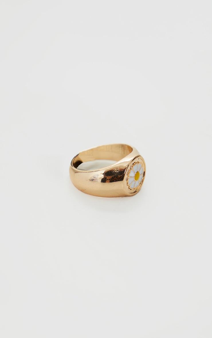 Gold Daisy Ring 3