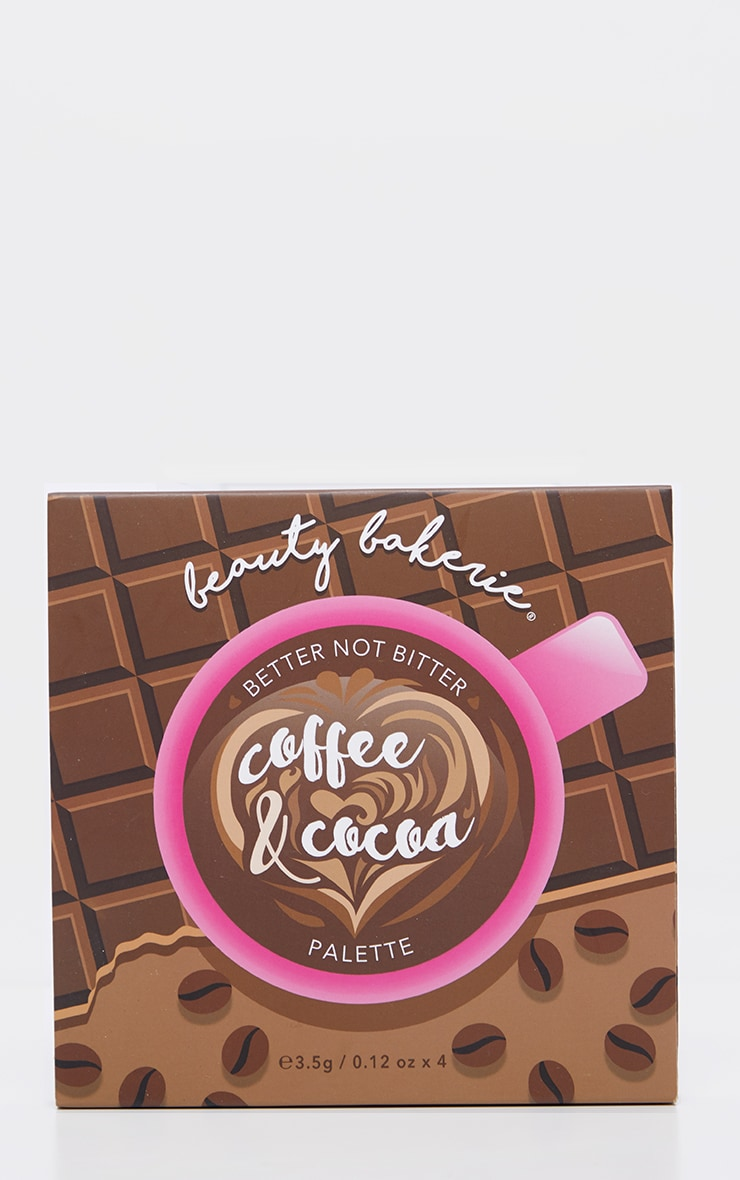 Beauty Bakerie Coffee & Cocoa Bronzer Palette 3