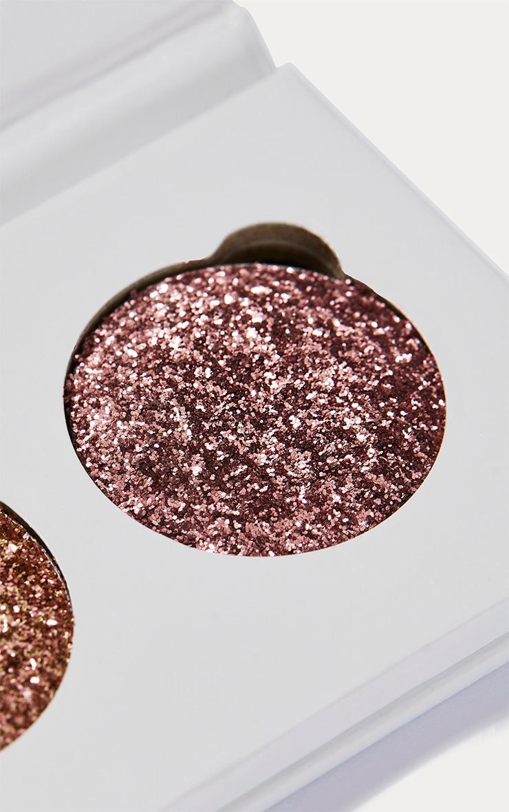 GlitterEyes Rose Gold Trio Palette  3