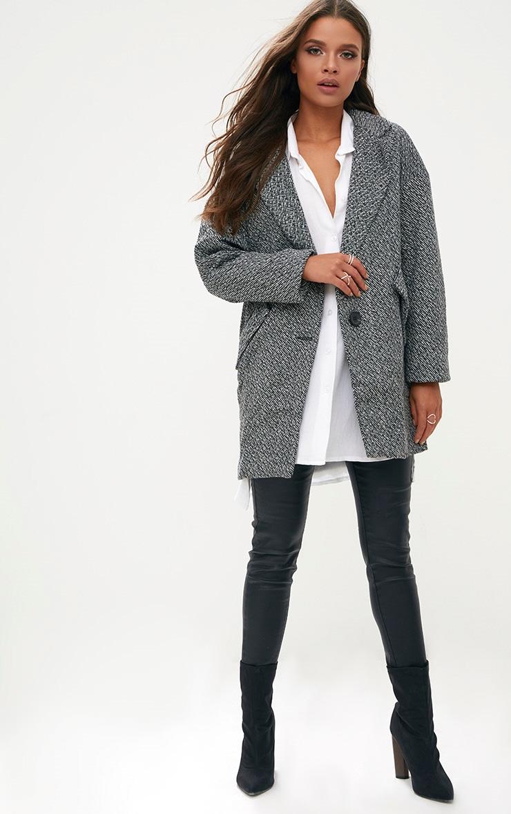 Grey Harringbone Coat 4