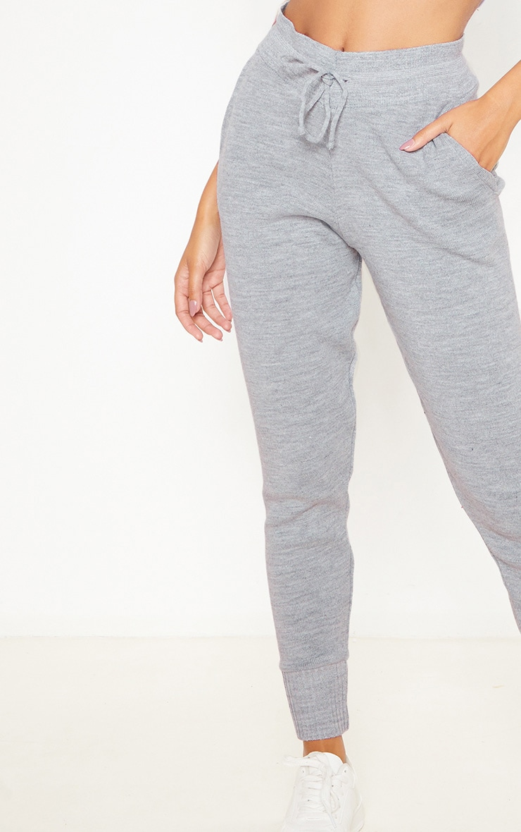 Grey Knitted Jogger 5
