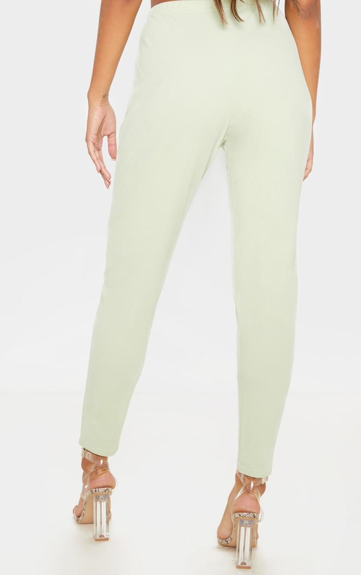 Sage Straight Leg Crepe Pants 4