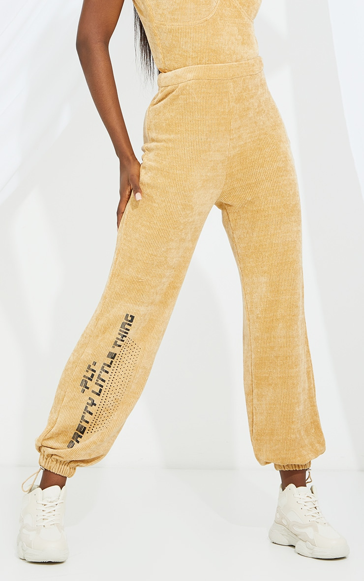 Tall Stone Chenille Oversized Joggers 2