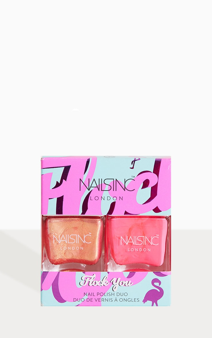 Nails Inc Flock You Nail Polish Duo 1