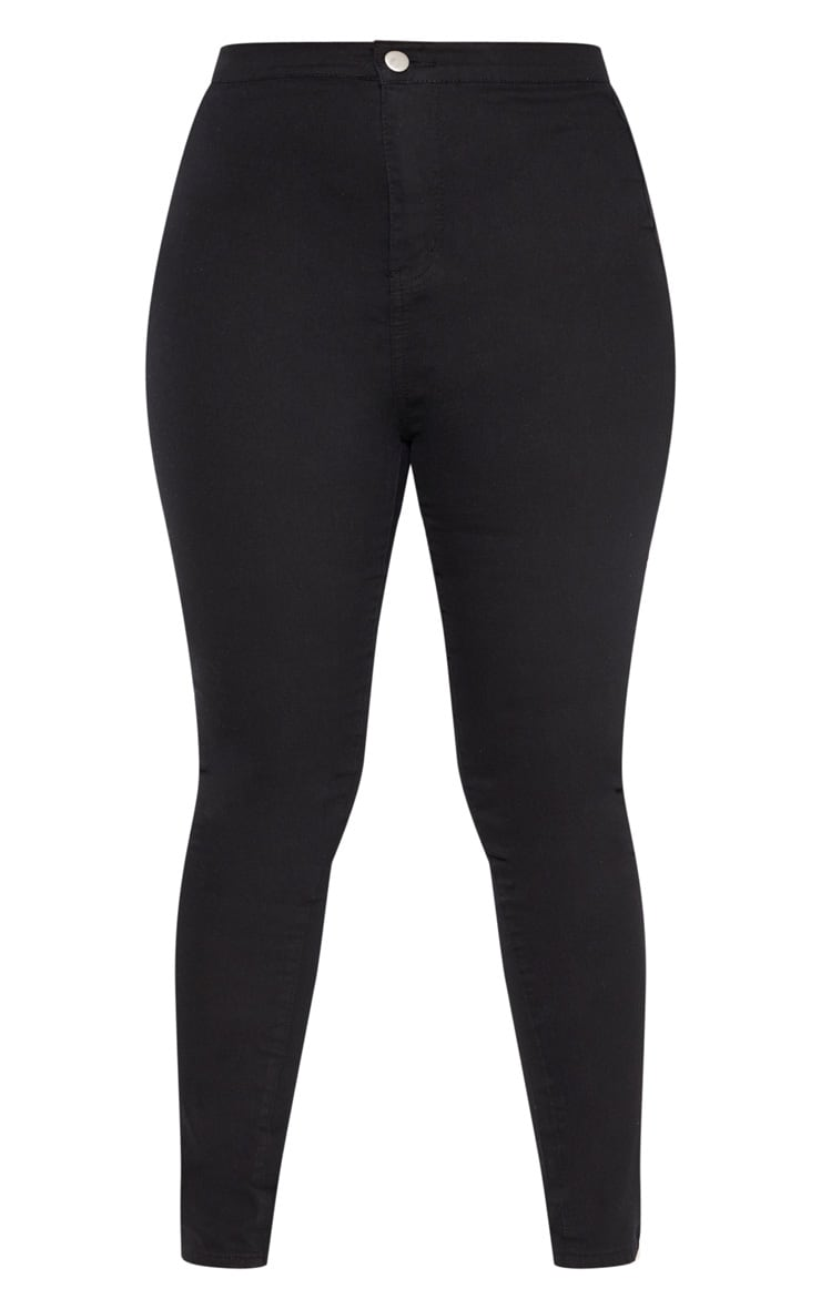Plus Black Stretch Jegging 3