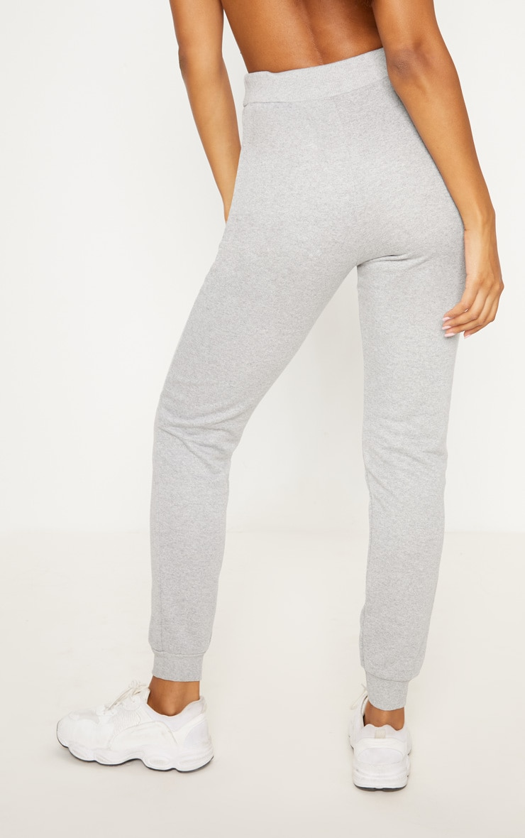 Grey Ultimate Marl Sweat Joggers  4