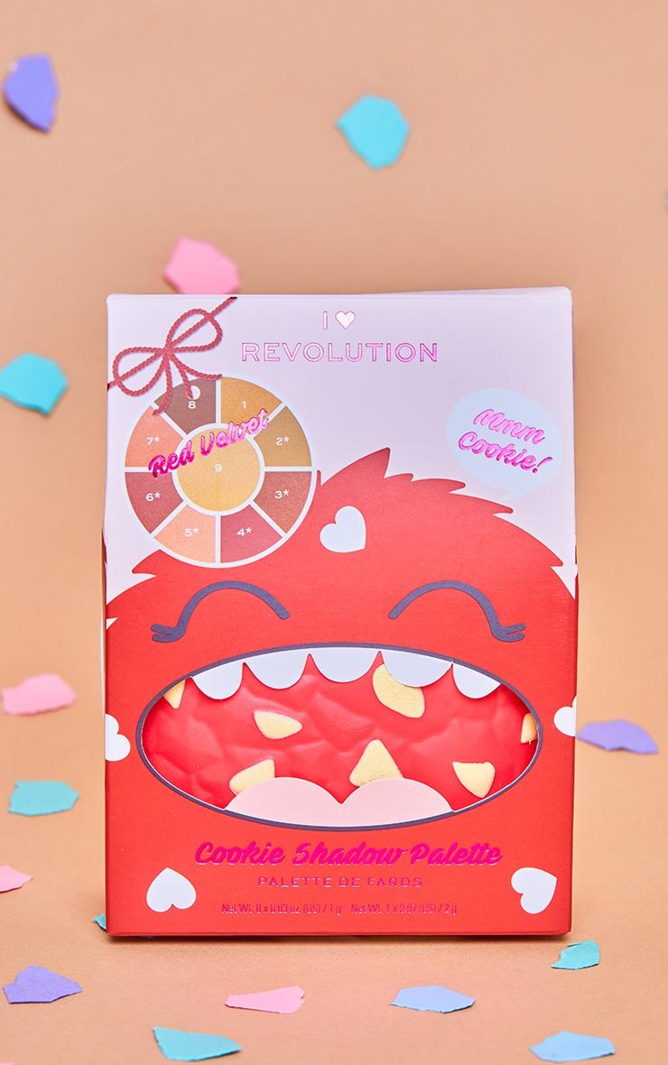I Heart Revolution Red Velvet Cookie Palette 2