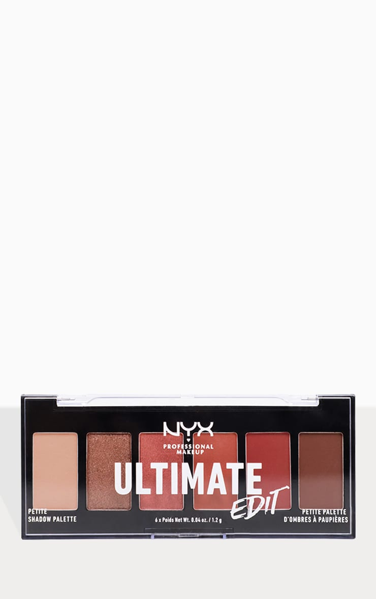 NYX Professional Makeup Ultimate Edit Petite Shadow Palette Warm Neutrals 3