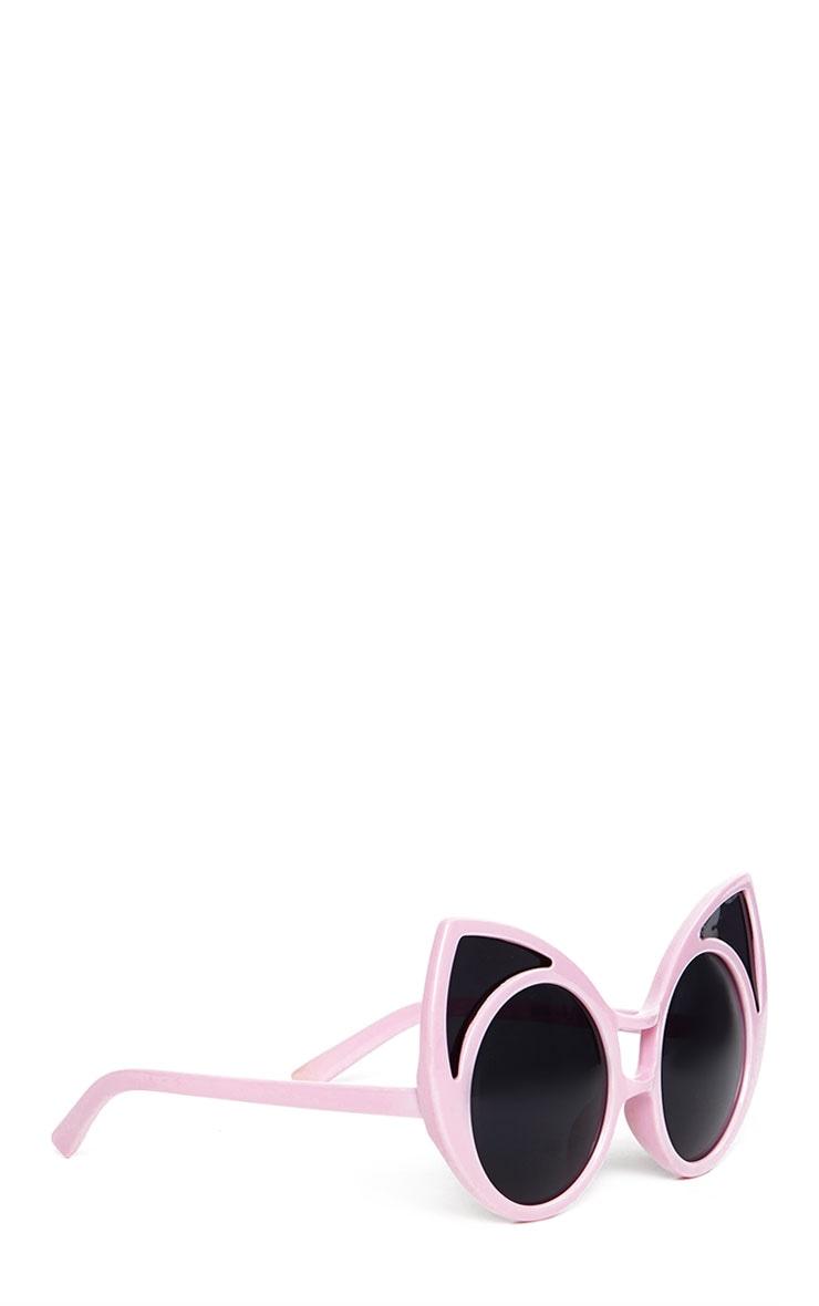 Mimi Pink Cat Ear Sunglasses 3