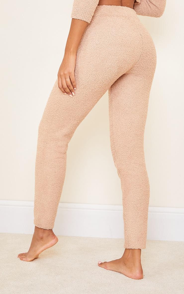 Camel Premium Fluffy Knitted Leggings 3