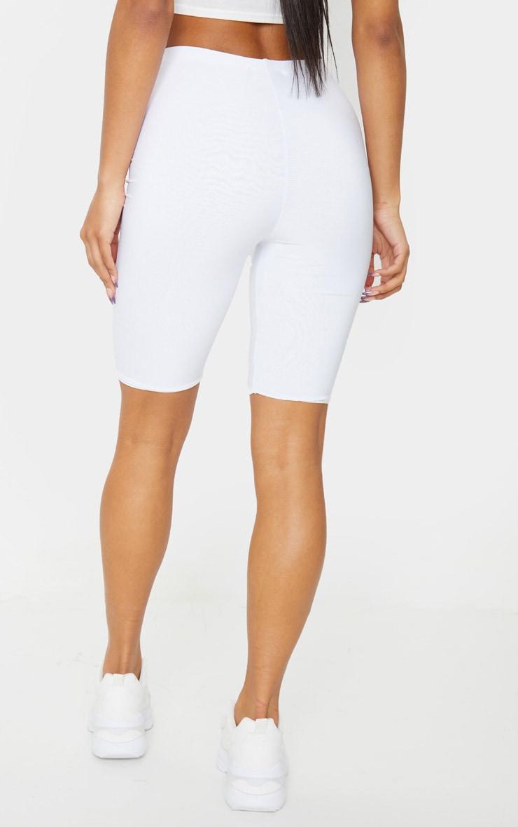 Short-legging slinky long blanc 3