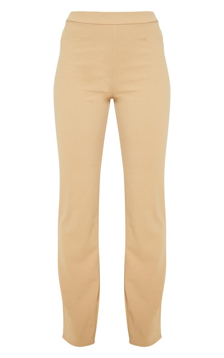 Taupe Straight Leg Trouser  3