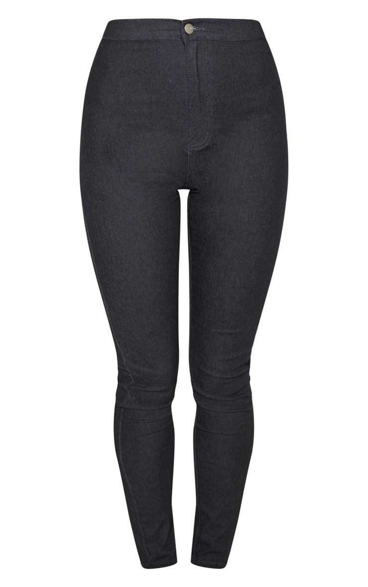 Washed Black Denim Jegging 3