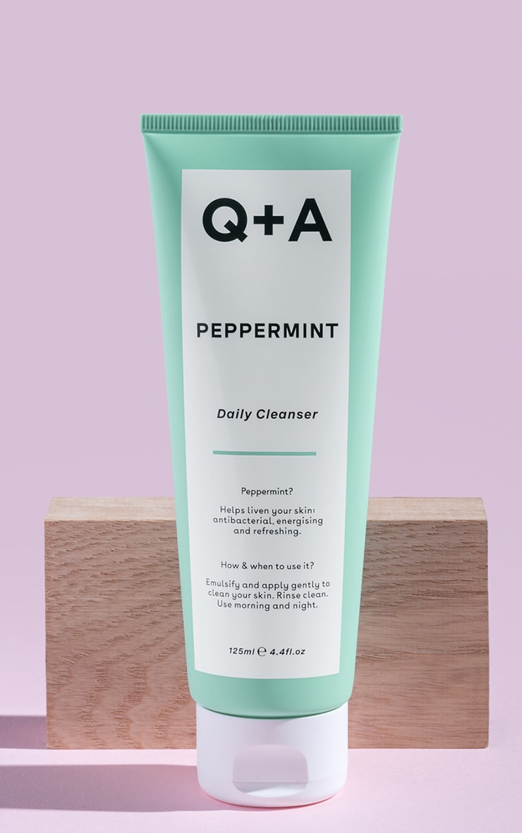 Q+A Peppermint Daily Cleanser 125ml 1