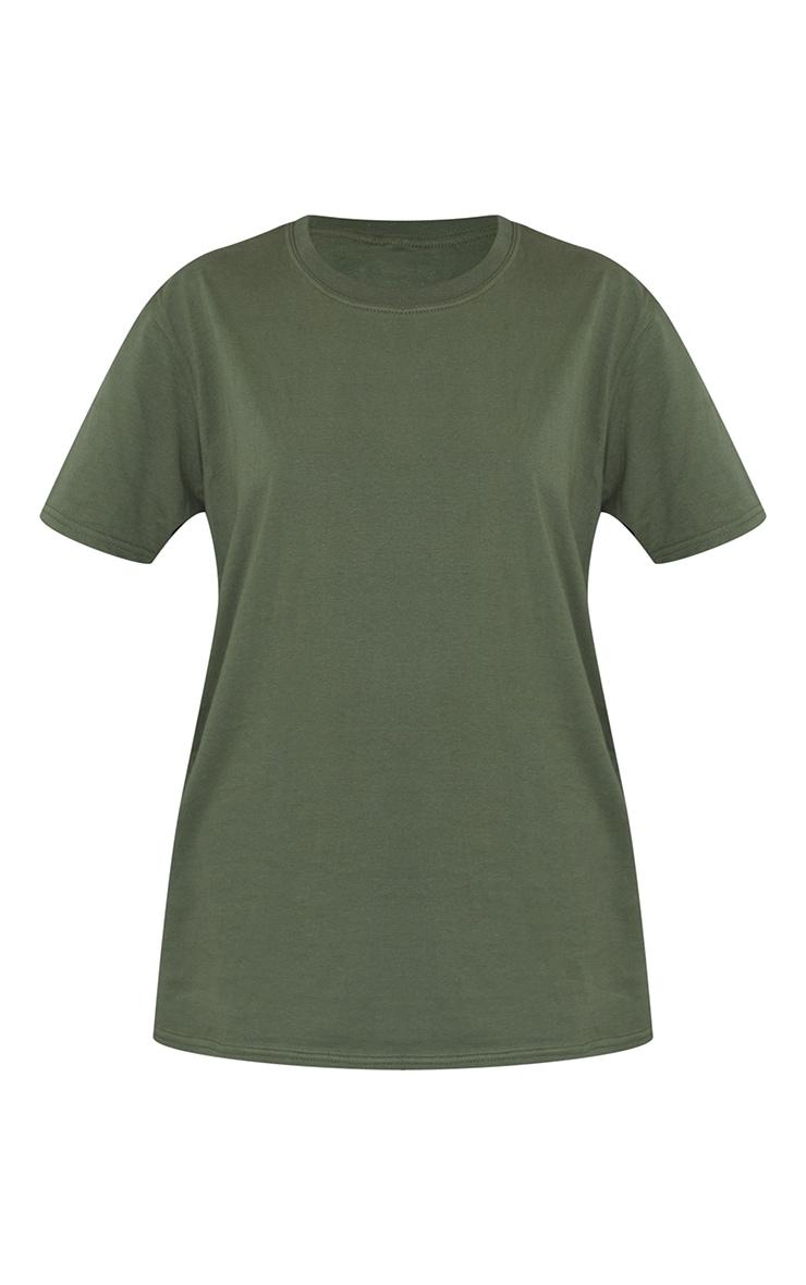 Khaki Boyfriend T Shirt 5