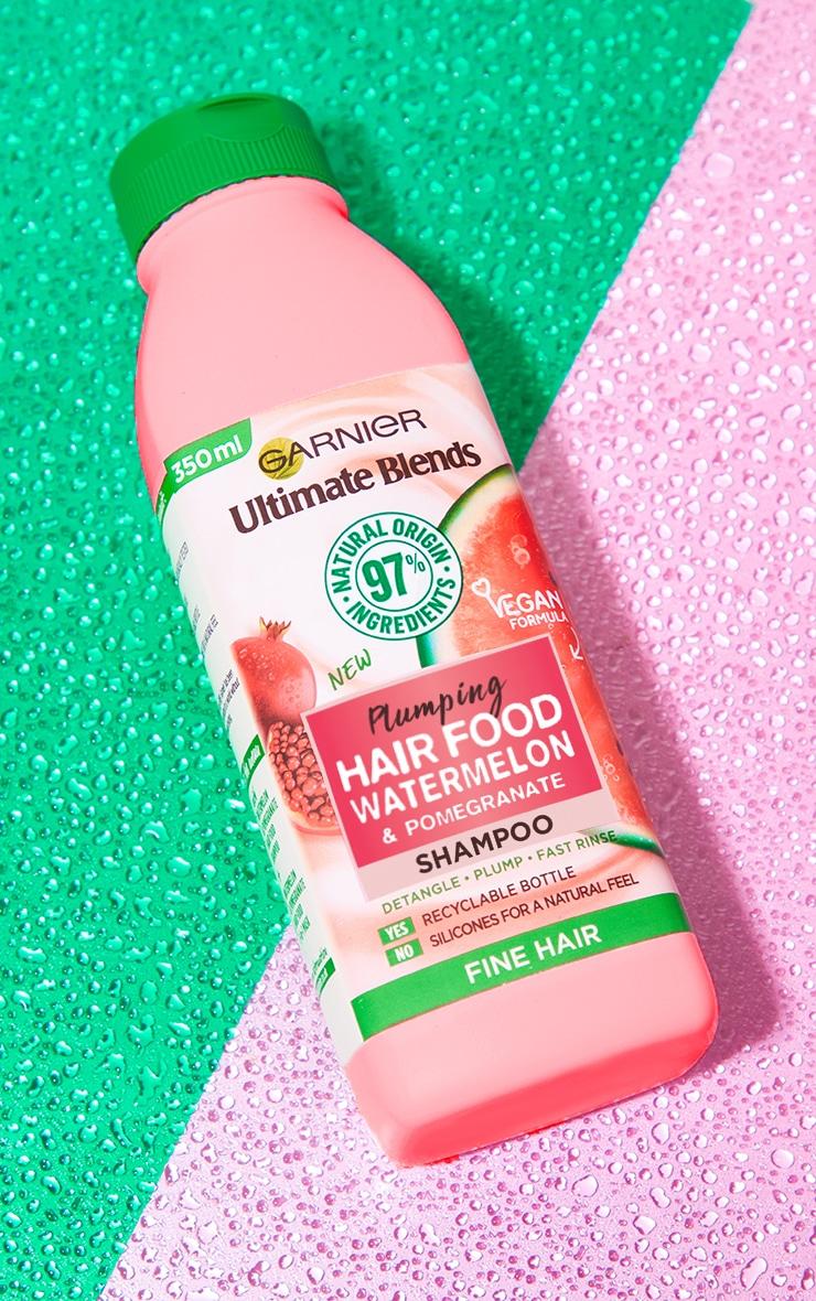 Garnier Ultimate Blends Watermelon Shampoo for Fine Hair 350ml 1