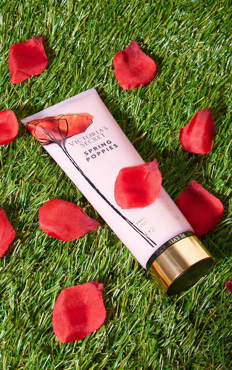 victoria's secret spring poppiesfragrance lotion 236ml