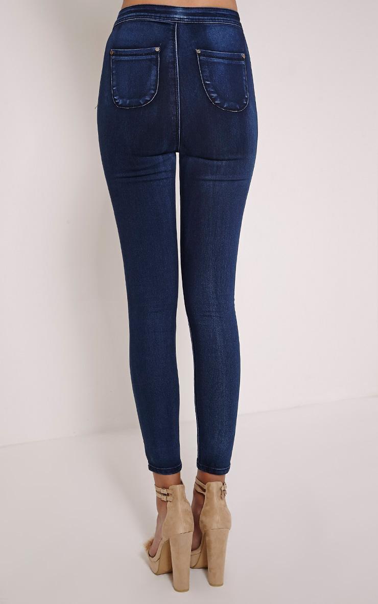 Bethany Indigo High Waist Skinny Jean 4
