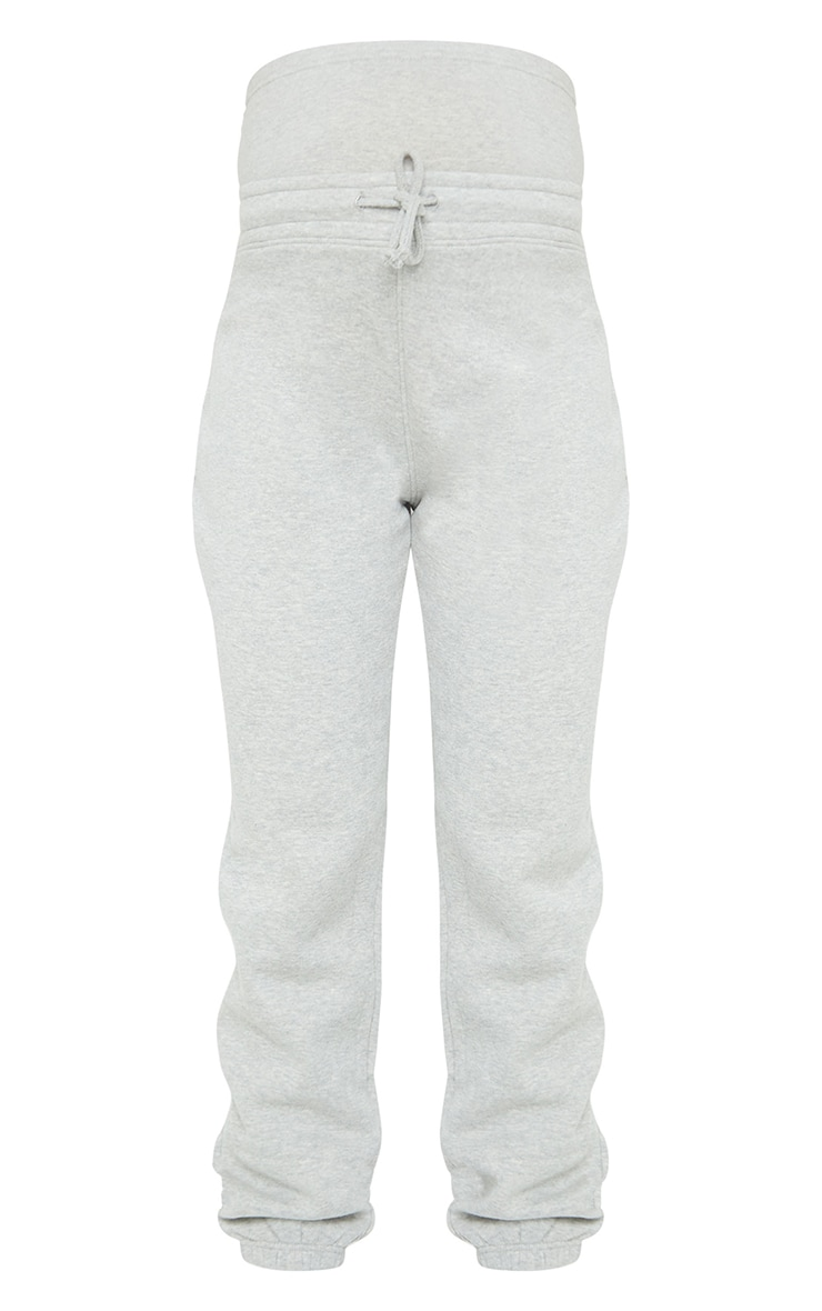 Maternity Grey Bump Support Joggers 5