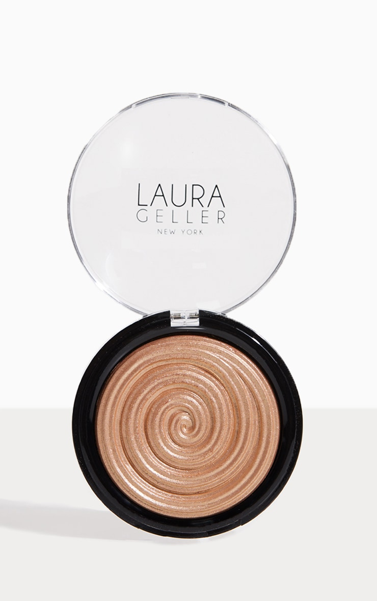 Laura Geller Baked Gelato Swirl Illuminator Gilded Honey