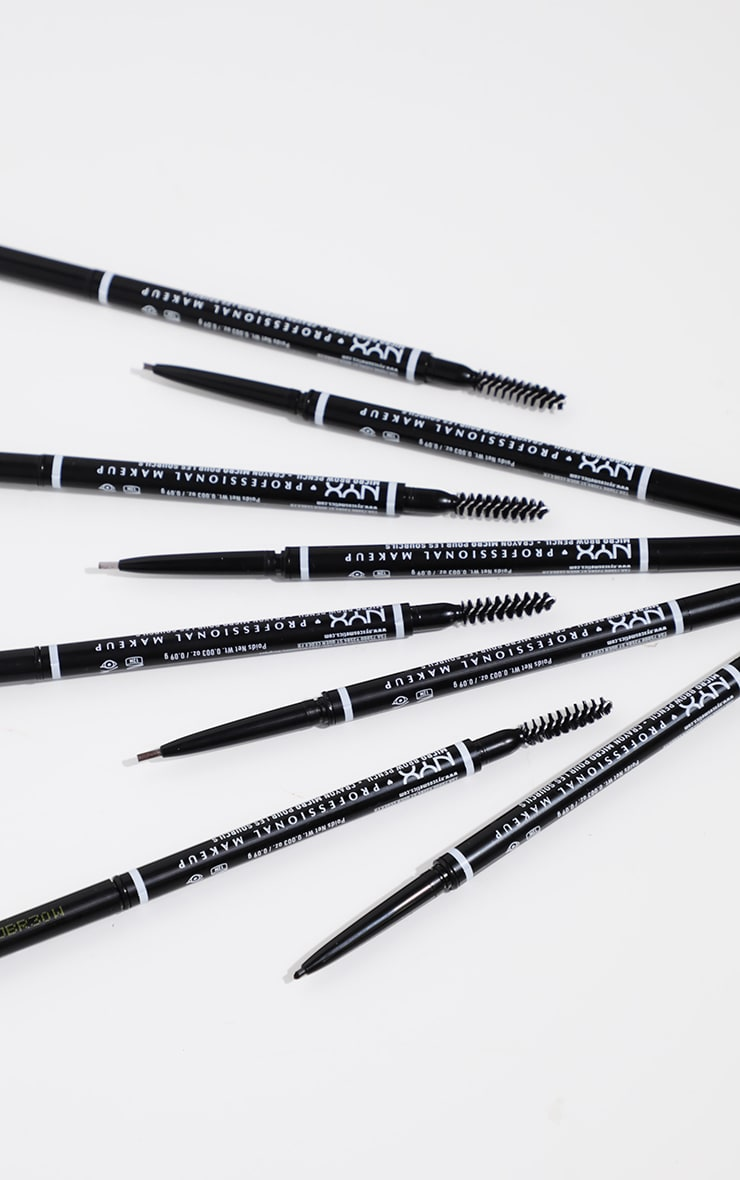 NYX PMU Micro Brow Pencil Black 4