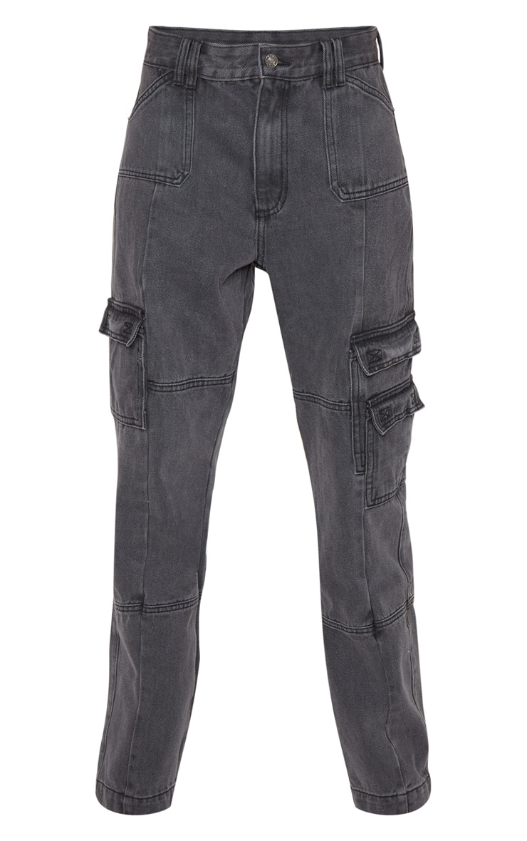 Black Combat Jeans 3