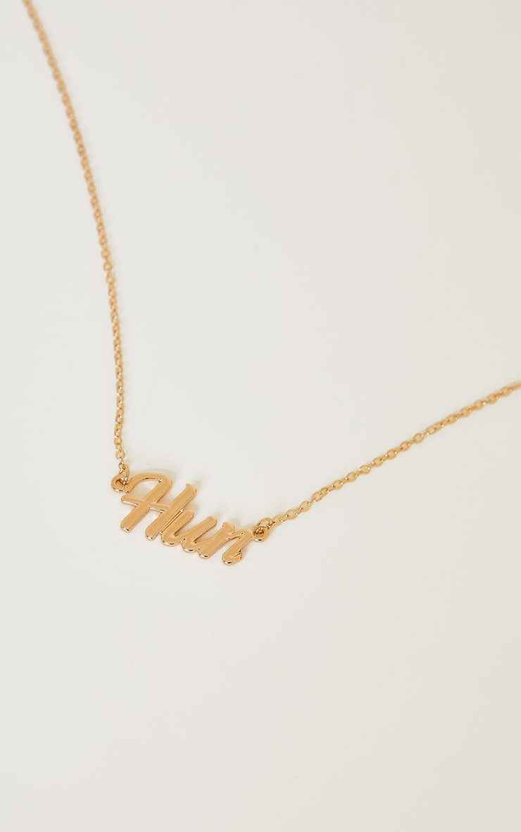 Gold Hun Necklace 1