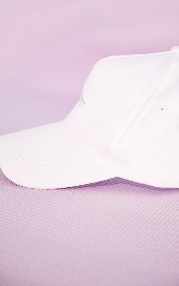 PRETTYLITTLETHING White Sports Cap 3