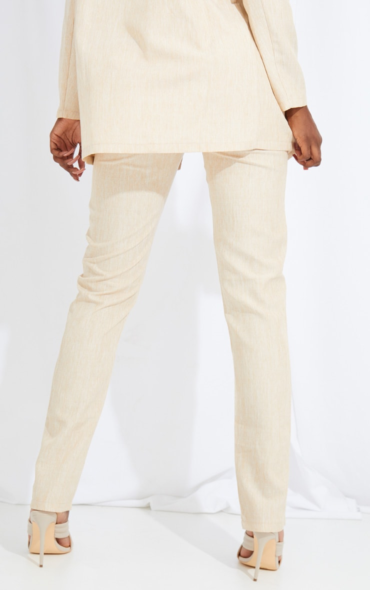 Tall Stone Oversized Wide Leg Suit Trousers 3