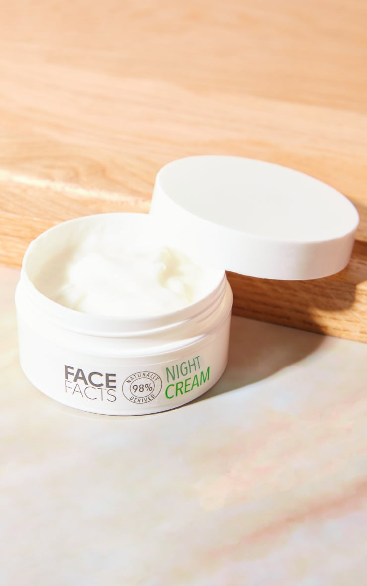 Face Facts Natural Night Cream 1