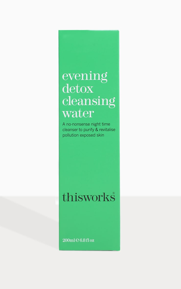 This Works Evening Detox Cleansing Water 200ml 3