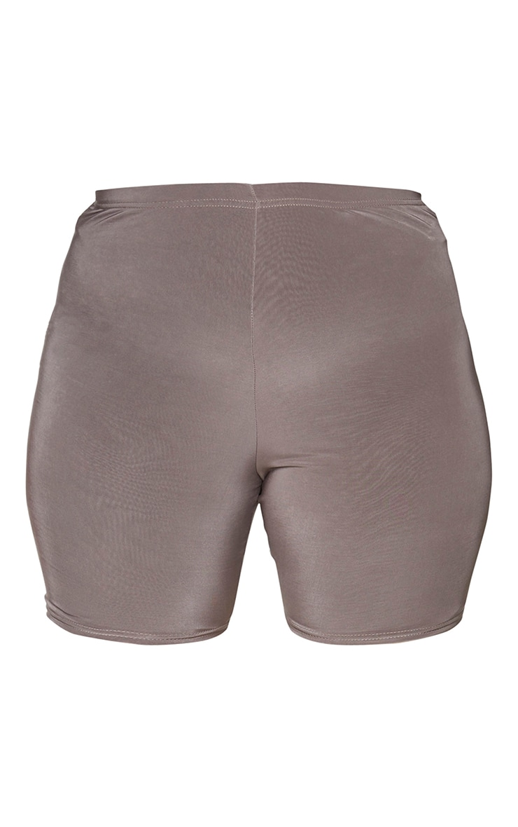 Plus Slate Slinky Cycle Shorts 6