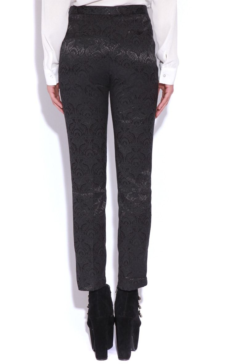 Felix Black Baroque Trousers 4
