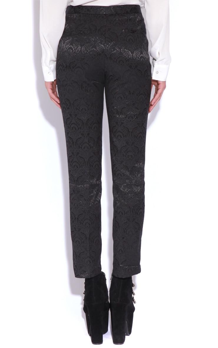 Felix Black Baroque Trousers 4