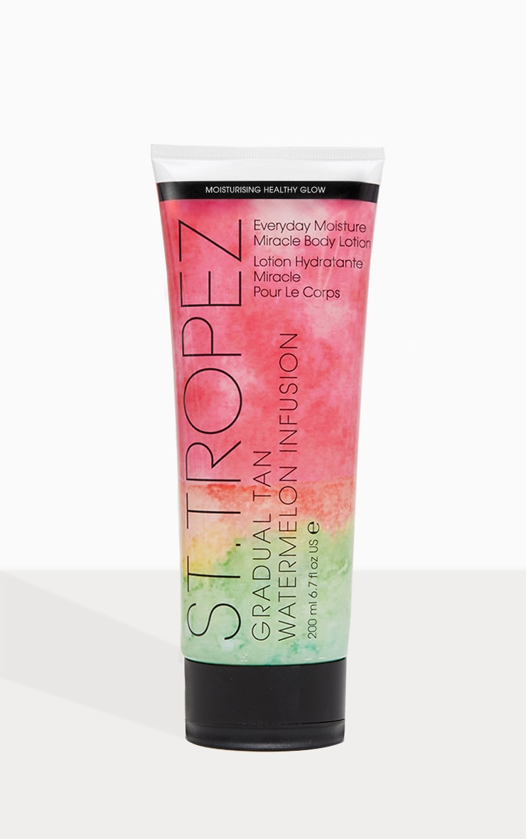 St. Tropez Gradual Tan Watermelon Infused Moisture Miracle Lotion 200ml 2