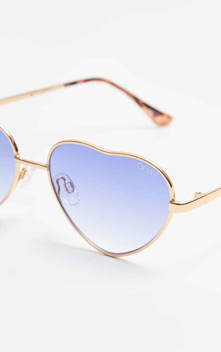 QUAY AUSTRALIA Blue X Elle Ferguson  Collaboration Kim Sunglasses 4