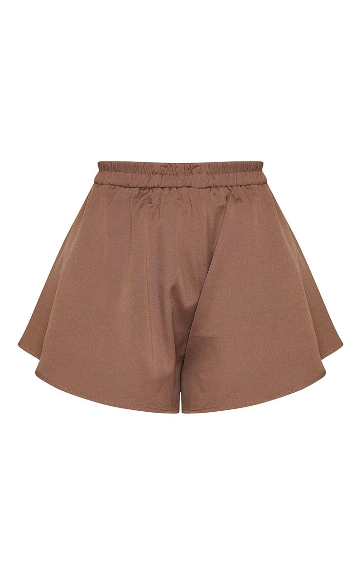Mocha Floaty Shorts 6