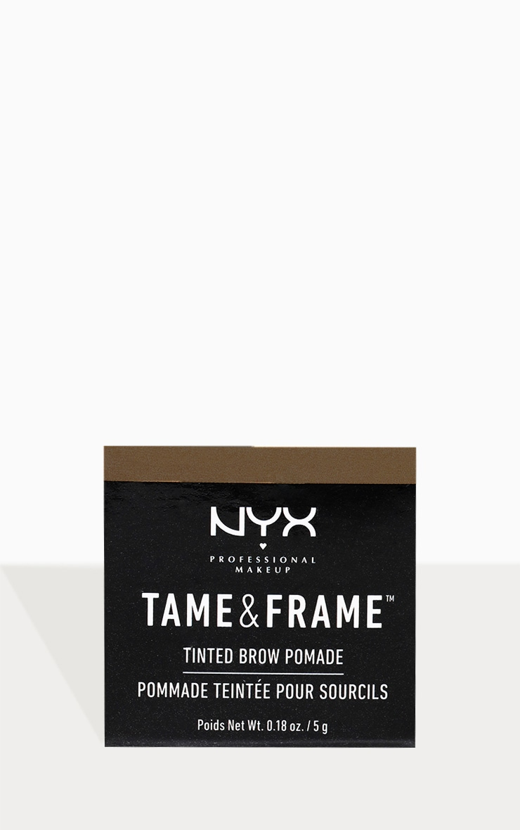 NYX PMU Tame & Frame Brow Pomade Brunette 3