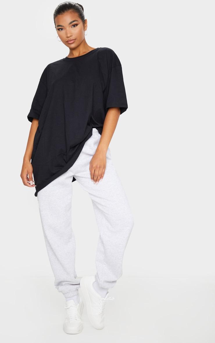 T-shirt surdimensionné noir basique 3