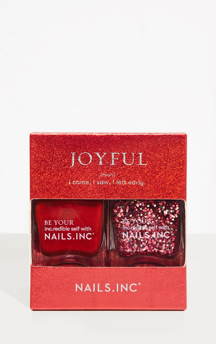 Nails Inc Joyful Nail Polish Duo 3