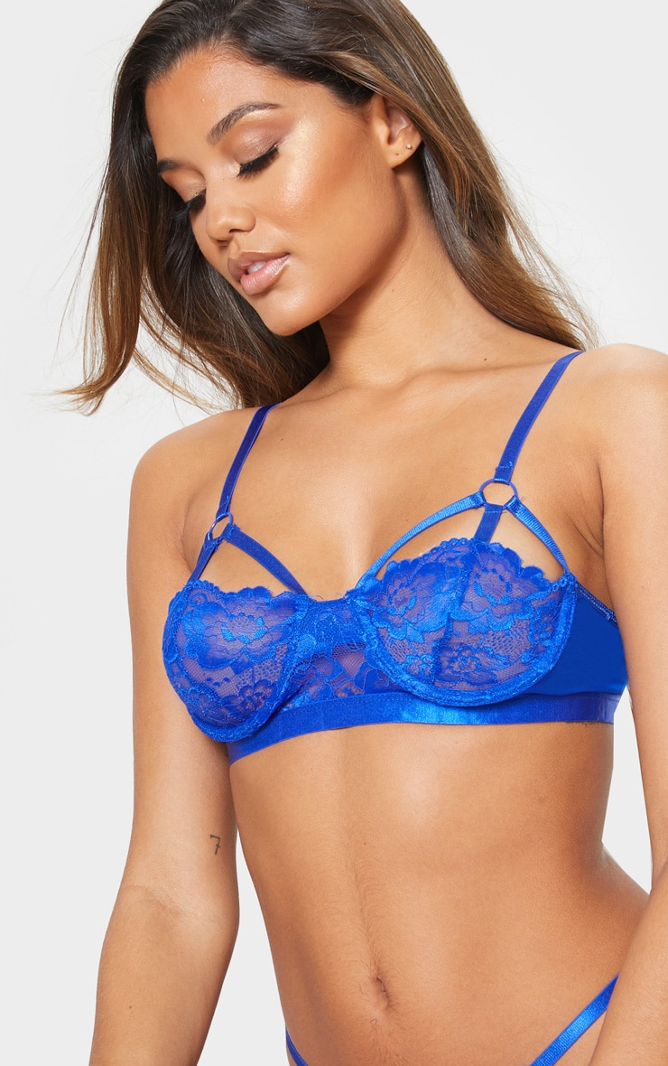 Cobalt Strapping Detail Underwired Balcony Bra 5