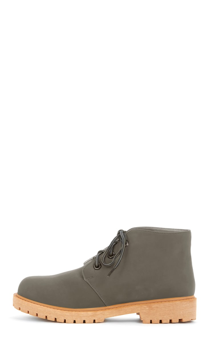 Iyanna Grey Desert Boot 1