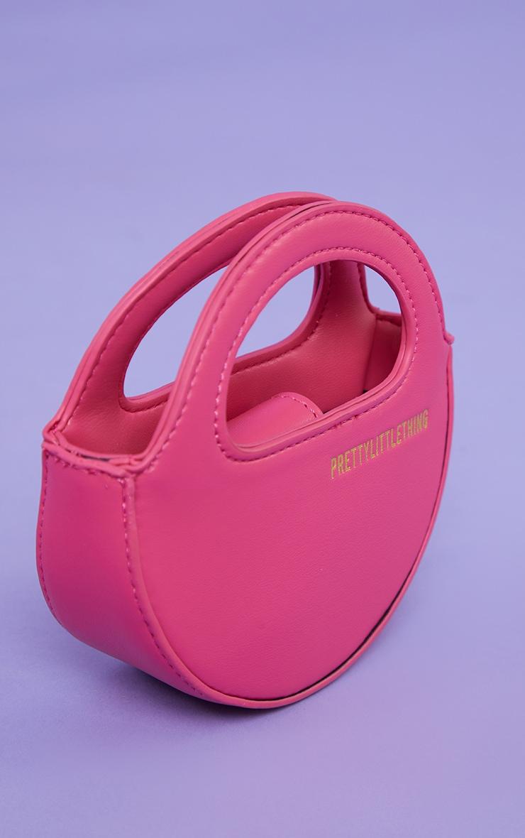 PRETTYLITTLETHING Pink Mini Round Grab Bag 3