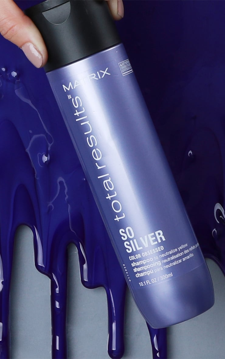 Matrix Total Results Color Obsessed So Silver Shampoo Blonde Hair 300ml 3