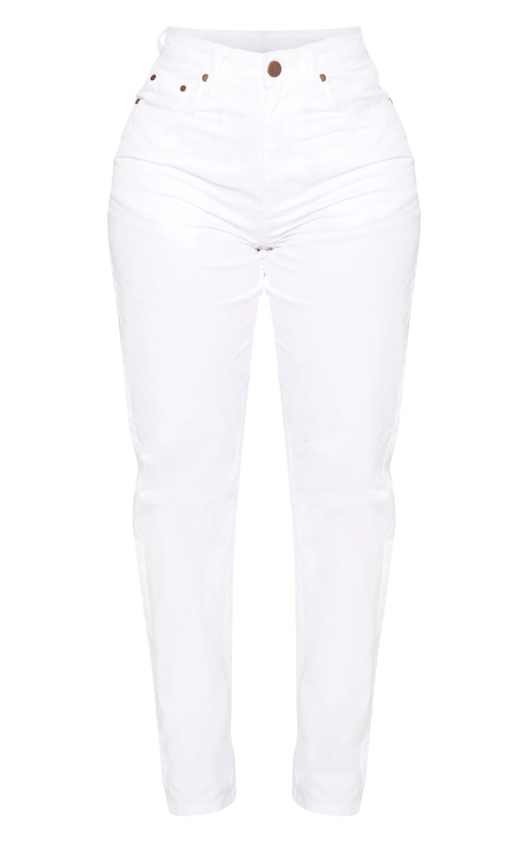 Shape White Mom Jeans 3