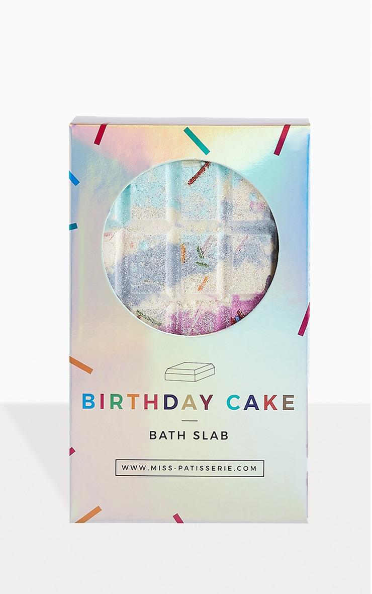 Miss Patisserie - Tablette de bain au gâteau d'anniversaire 2
