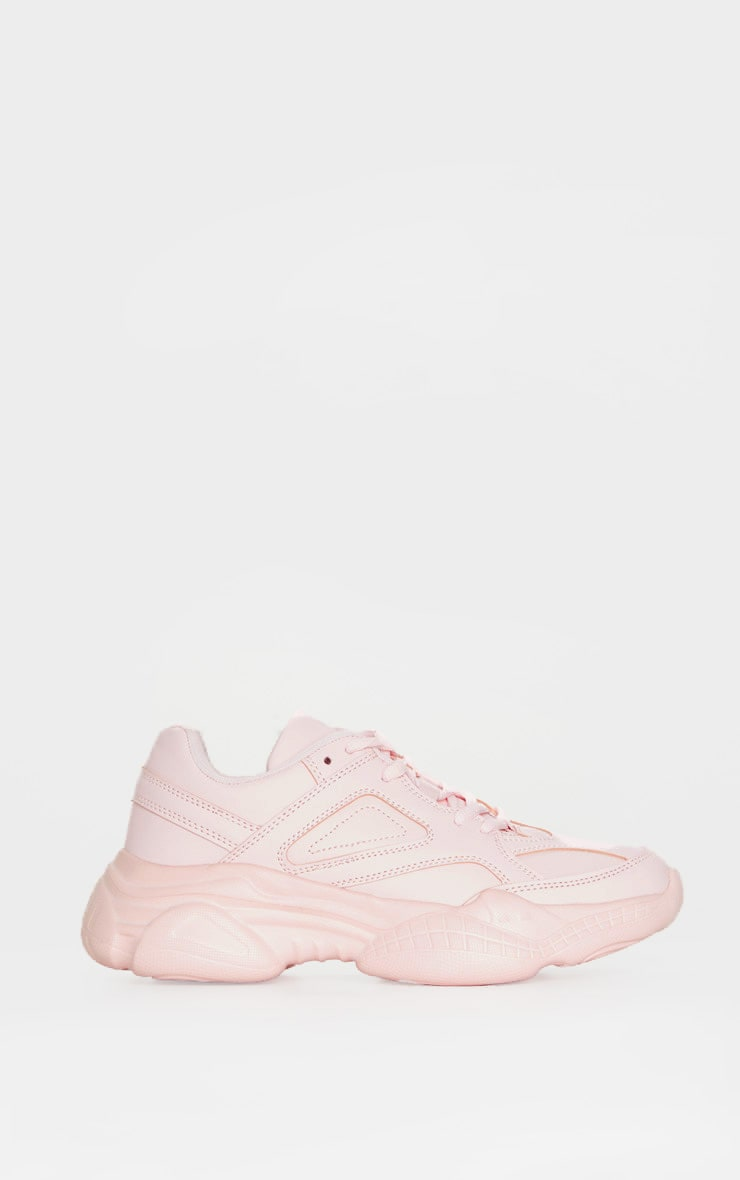 Blush Arch Sole Chunky Trainers 3